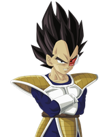 Vegeta Render/Extraction PNG by TattyDesigns