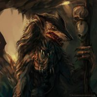 Sergal Shaman by bloodrizer