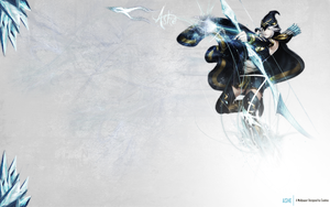 Wallpaper No.3 - LoL Ashe by DesignedByCookiez