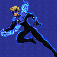 No Name 54 - Blue Lantern - B by UltimeciaFFB