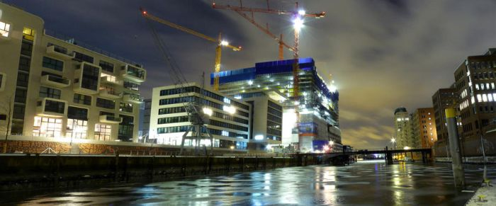 Elb-Philharmonic construction by BarneyHH