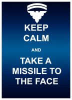 Keep Calm- Missile by hoiist