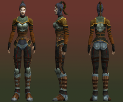 Female Vampire Hunters Skin for LoK Defiance by TheHylden