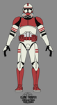 Clone Trooper - Coruscant Guard by BCMatsuyama