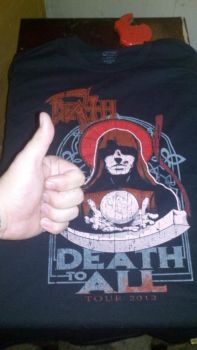 Death to All T-shirt by SeventhTower