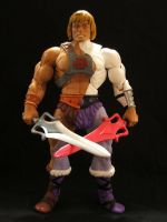 MOTUC Phasing Adam with swords by masterenglish