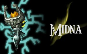Midna wallpaper by MagicalyMade