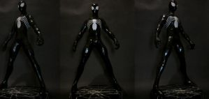 spiderman symbiote by erinasution