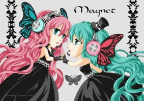 Vocaloid - Magnet by aomarine