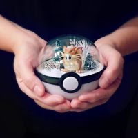 Raticate December Air - Poke Ball Terrarium by TheVintageRealm