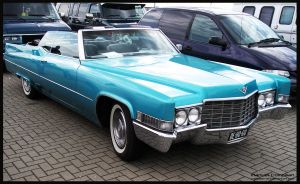 1969 Cadillac DeVille Convertible by compaan-art