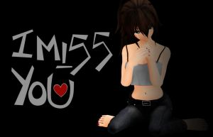 I Miss You... by Rayne-Ray