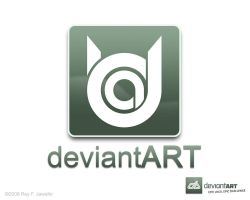 Deviant Art Logo 10.1 ReyJ by reyjdesigns