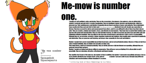 me-mow is number 1 by Me-MowTheCat