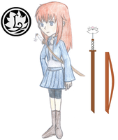 Lilias (Lily) Candor Logo/ Sword Reference by R3dArkang3l