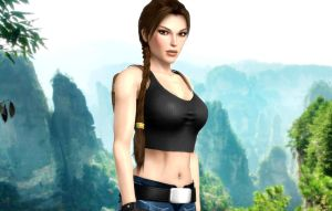 Lara_Croft_Back_To_Ghana by ivedada