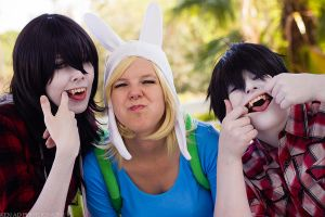 Funny Faces! by HeartandLight