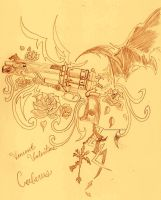 Cerberus - Guns and Roses by FaNtAsYzMaRiOnEtTe