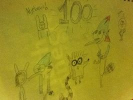 100th DEVIATATION by MordecaiLover123