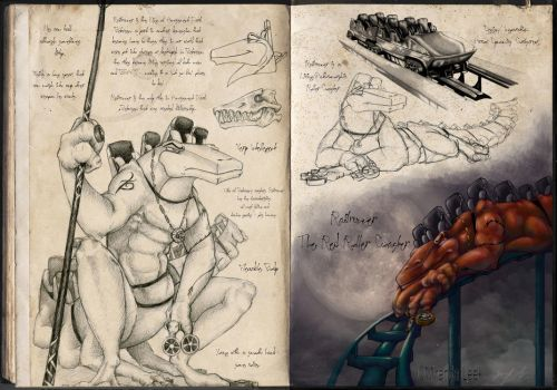 Railrunner Character Development: Page 1 by RedCoaster