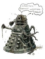 Zombie Dalek by Originalzombie