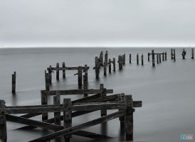 The old pier - Swanage, U.K. by nobbe42
