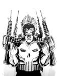 Punisher Sketch by GIO2286