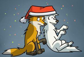 And here's to a happy christmas! by LeeyFox