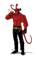 Hellboy by Ferroconcrete247