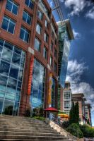 Downtown Greenville by nukethewhalez