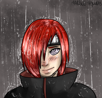 cutie patootie in the rain by Dei-chan-luv