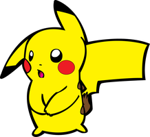 Random Pika Vector Color Version by BeastlyDigital
