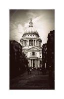 Steps Of St. Paul's by eileanrose