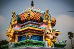 Indian temple by supragyaraj