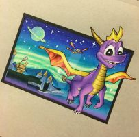 Spyro the Dragon by techn0vert