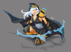 Ashe - League of Legends by mythgarnets