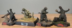 Mosugoji 1964 Mini Dioramas by Legrandzilla