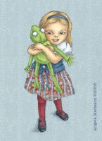 Loving Kermit by anrenee