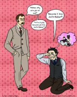 HOLMES LOVES JUSTIN BIEBER by taconaco