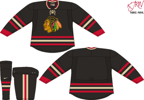 Chicago Blackhawks Alternate V1 by thepegasus1935