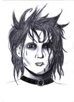 Edward Shissorhands by kawii-neko-chan