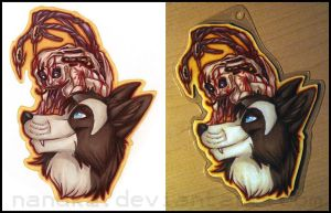 Trade :: Kaya Badge by Nanuka