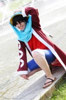 Monkey D. Luffy - Alabasta | II by Wings-chan