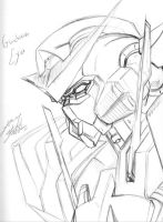 Exia Quicky by FalkSMASH