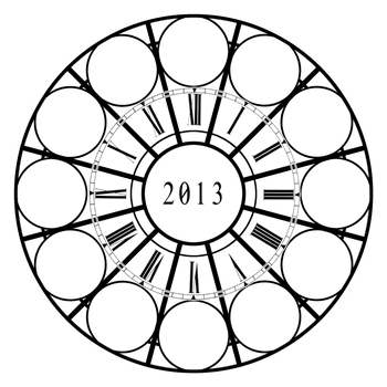 2013 Art Clock Meme by roika-elfili