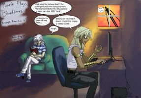 Marik Plays: Bloodlines Ch 6 by JereduLevenin