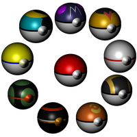Pokeball Display by TheTimeLordMarshal