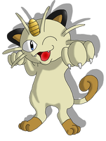 3: Meowth by Avi-the-Avenger