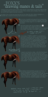 mane and tail tutorial by snofoxx89
