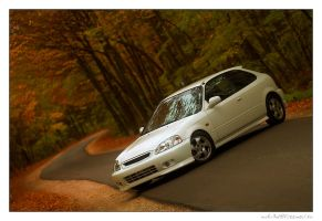 Honda Civic EK9 02. by miki3d